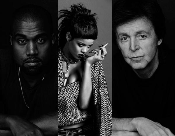 Kanye, Rihanna, & Paul McCartney Photo: www.cromosomax.com