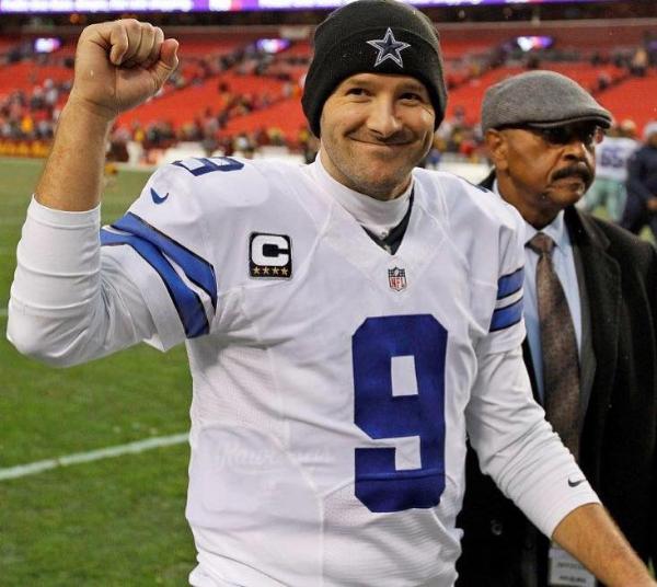 Tony Romo Photo: DallasCowboys.com
