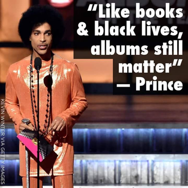Prince Grammys Photo: Kevin Winter GettyImages.com Huff Post