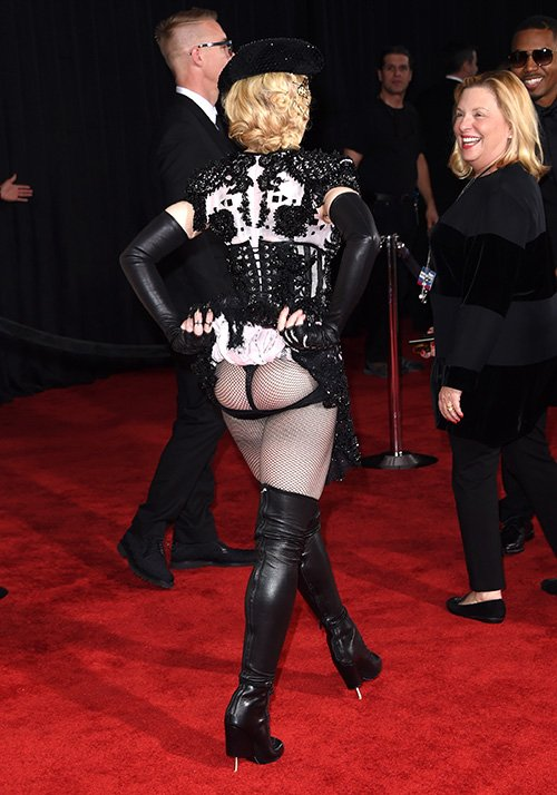 Madonna Cheeks Photo: GettyImages.com