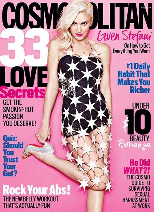 Gwen Stefani Photo: Matthias Vriens-McGrath For Cosmopolitan.com