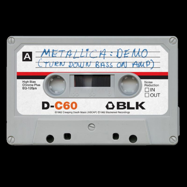 Metallica Record Store Day Cassette