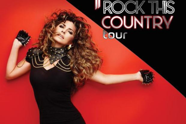 Shania Twain Rock This Country Tour Photo: AEG.com