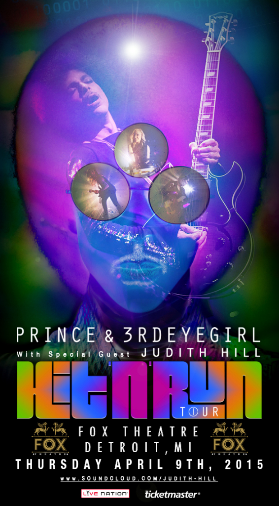 Prince Detroit Fox Theatre Image By LV