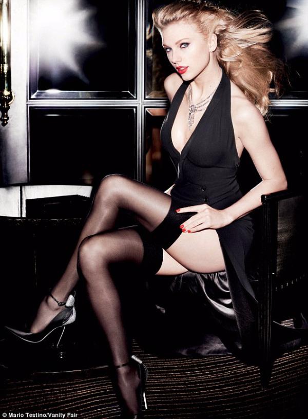 Taylor Swift Mario Testino For Vanity Fair