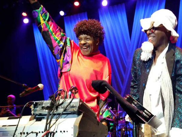Sly Stone Photo: Count Basie Theatre