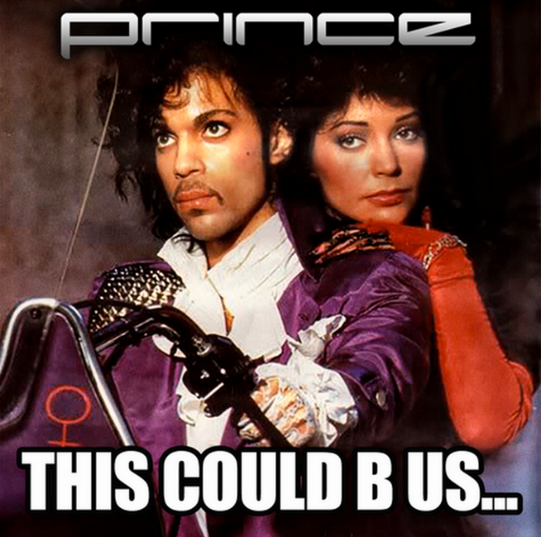PRINCE This Could B Us Cover Photo NPG Records 2015