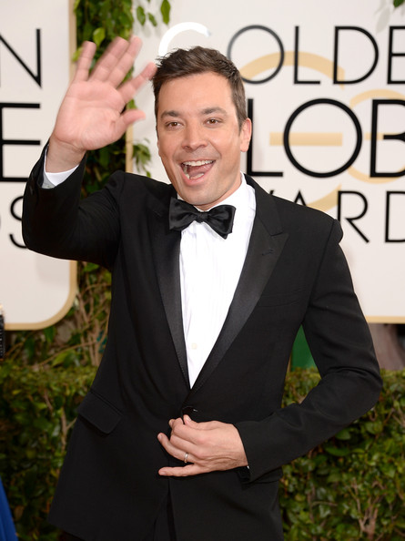 Jimmy Fallon Gloden Globes 2014 Getty Images