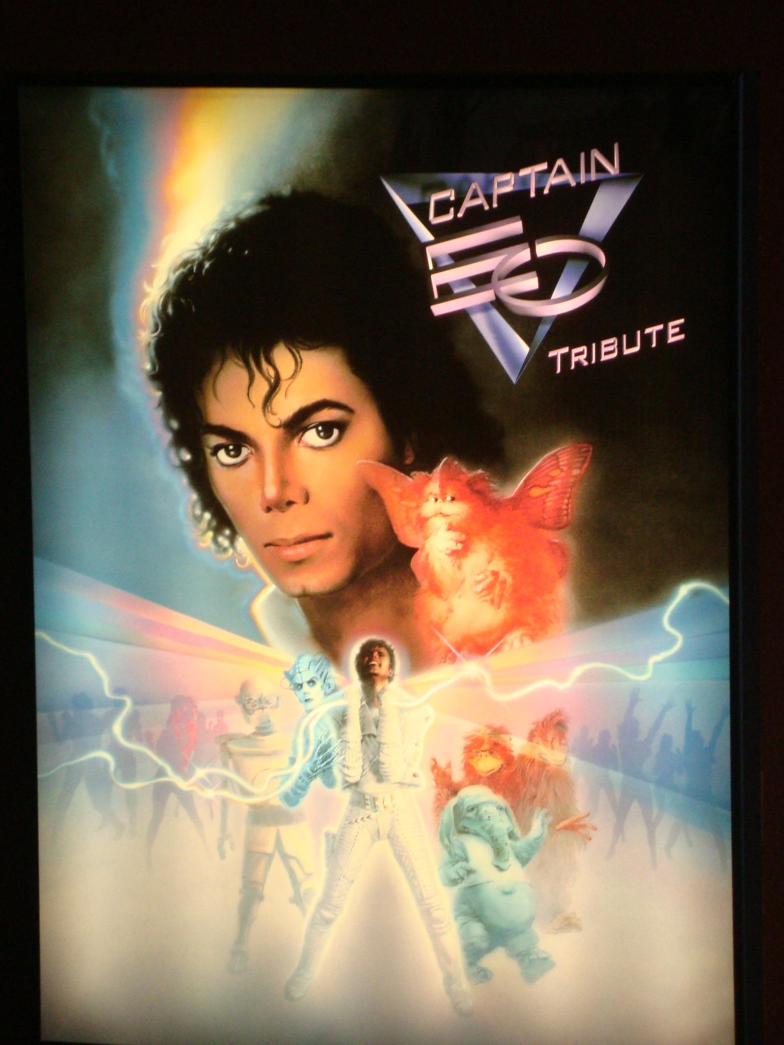 New Captain Eo Poster Michael Jackson Drfunkenberry.com Exclusive!
