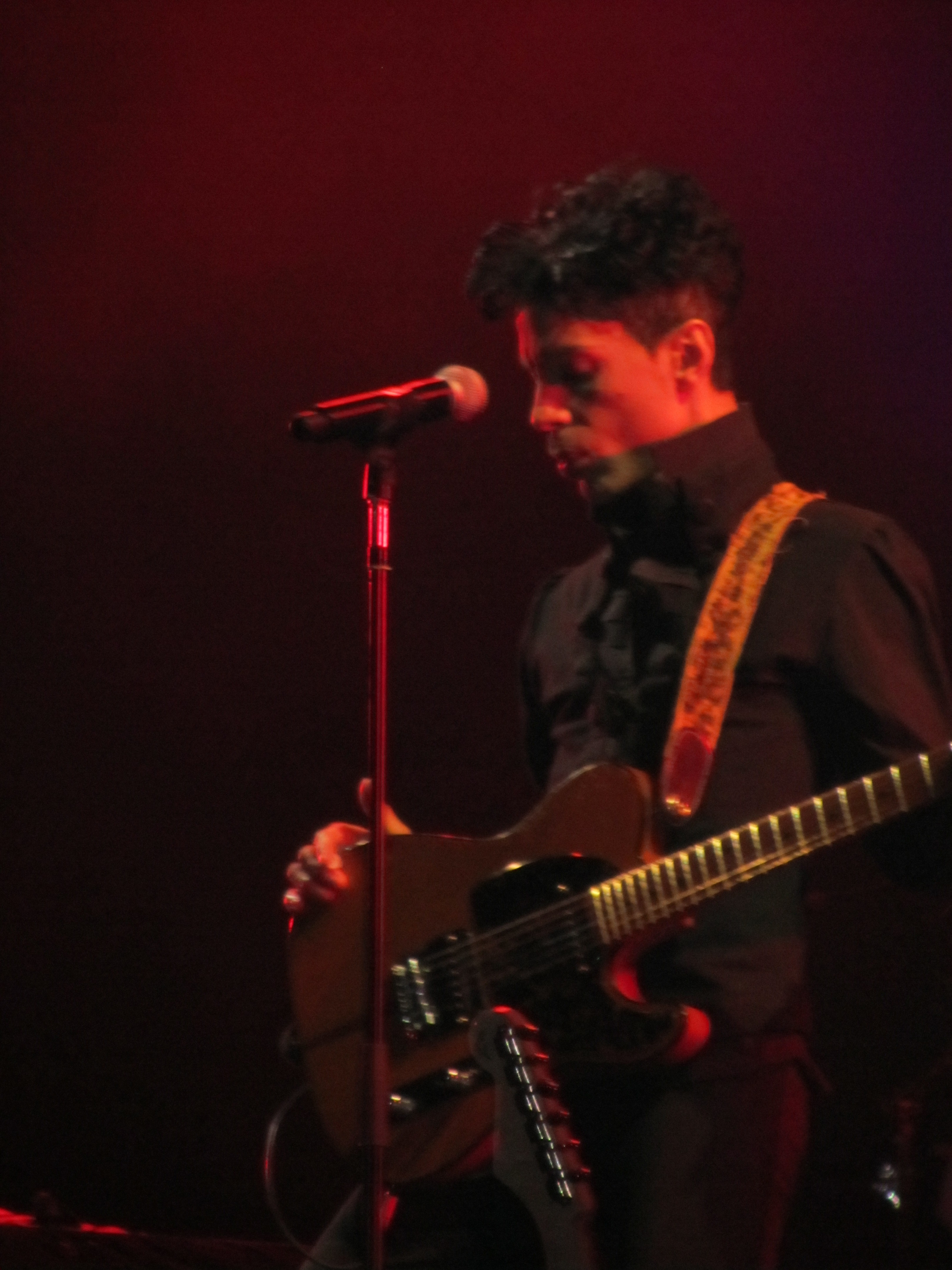 Prince Performs In Nice 2010