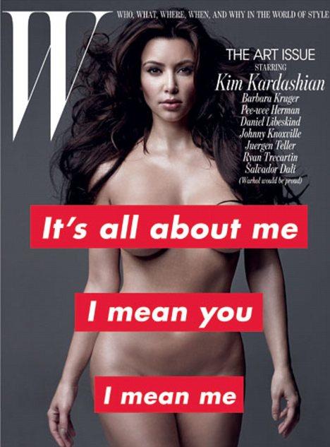Kim Kardashian. Photo: W Magazine