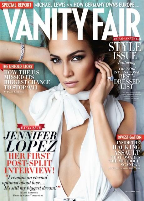 Jennifer Lopez Vanity Fair Cover Photo: VanityFair.com