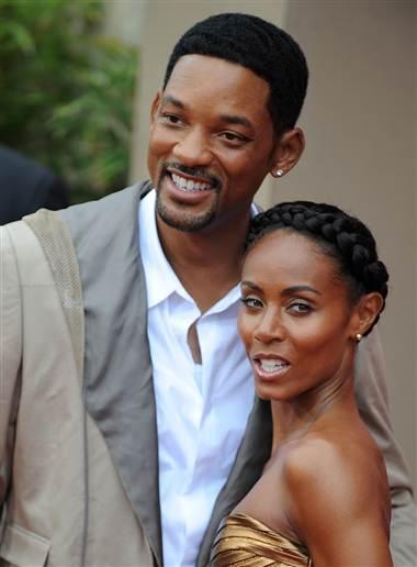 Will & Jada Pinkett Smith. File Photo