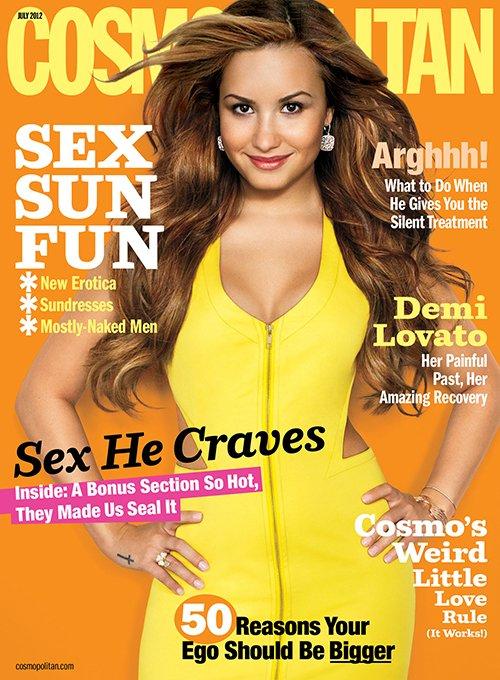 Demi Lovato. Photo: Cosmopolitan Magazine